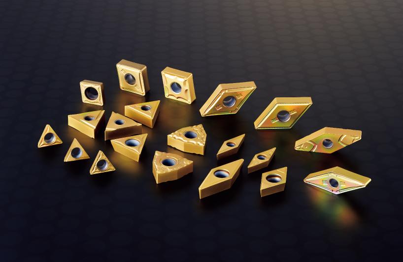 Desenvolvimento e distribuição da classe de cermet revestido para torneamento de aço T2500Z