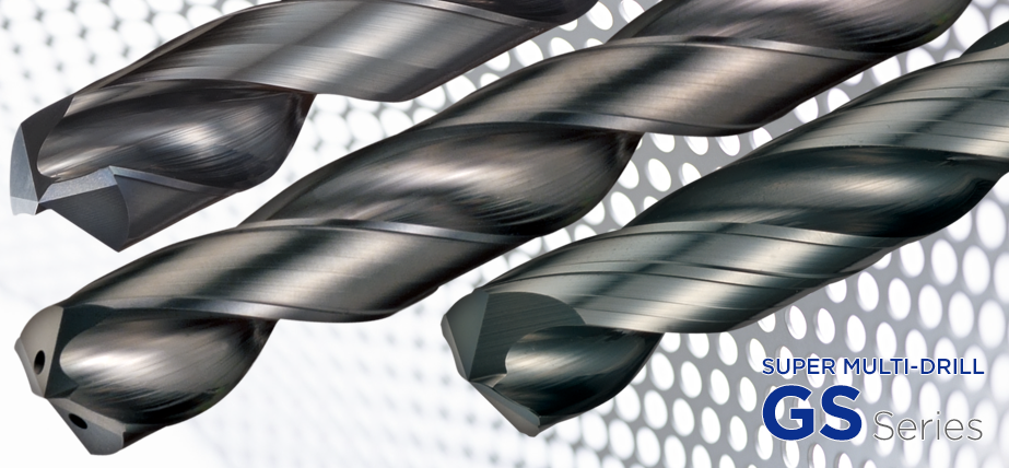 Super MultiDrill GS 系列 - 整体硬质合金钻头