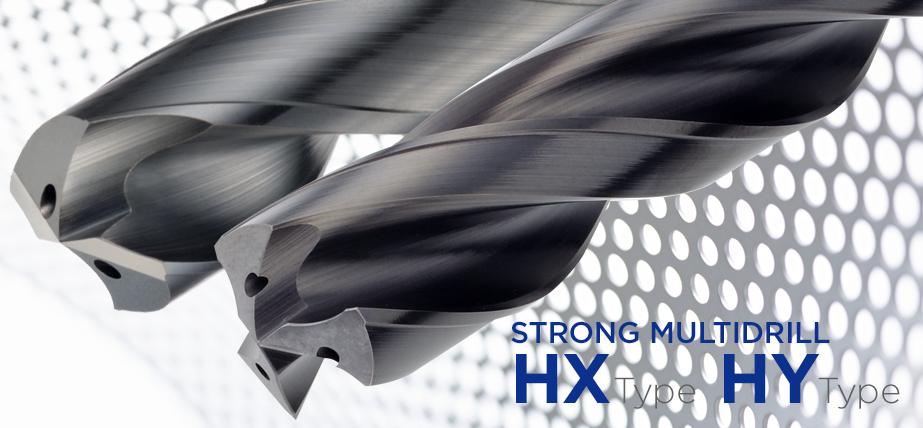 Strong MultiDrill HX/HY - 高效整体硬质合金钻头