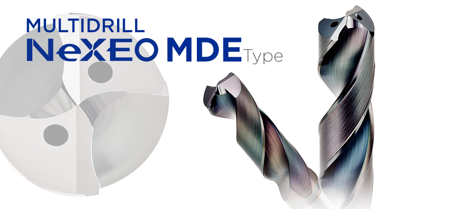 硬质合金涂层钻 NeXEO MDE型