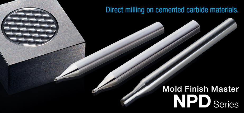 Mold Finish Master NPDB - 直接在烧结硬质合金材料上进行铣削