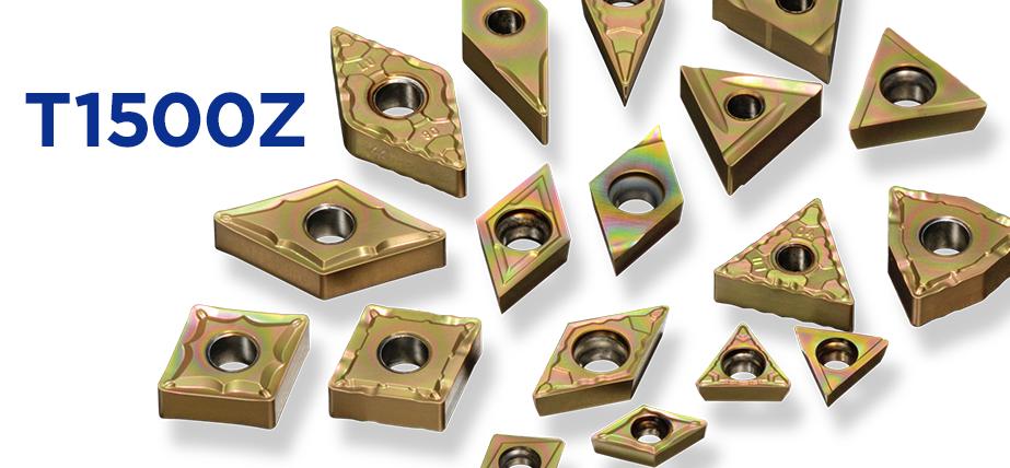 T1500Z - 适用于钢件的涂层金属陶瓷