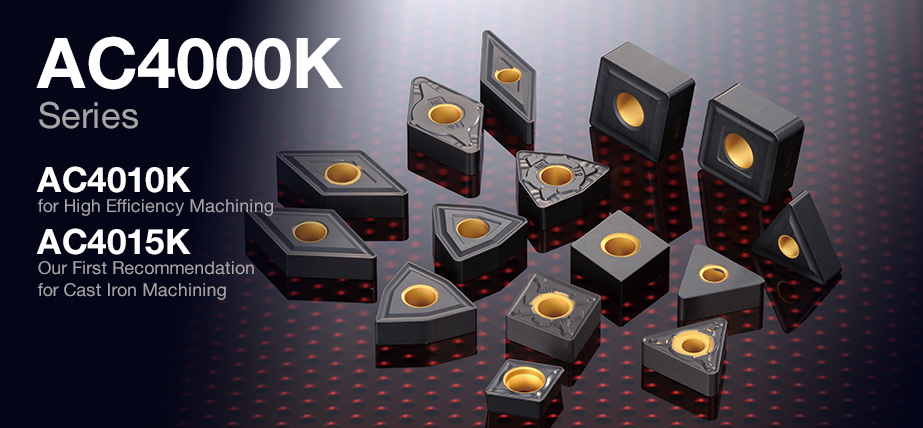 AC4000K series - Coating Grades for Cast Iron