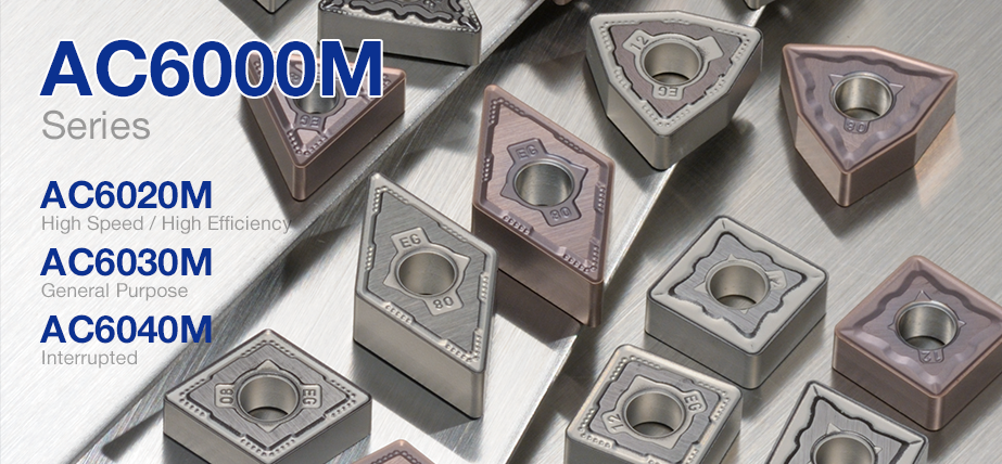 AC6000M series - Coated grades for stainless steel