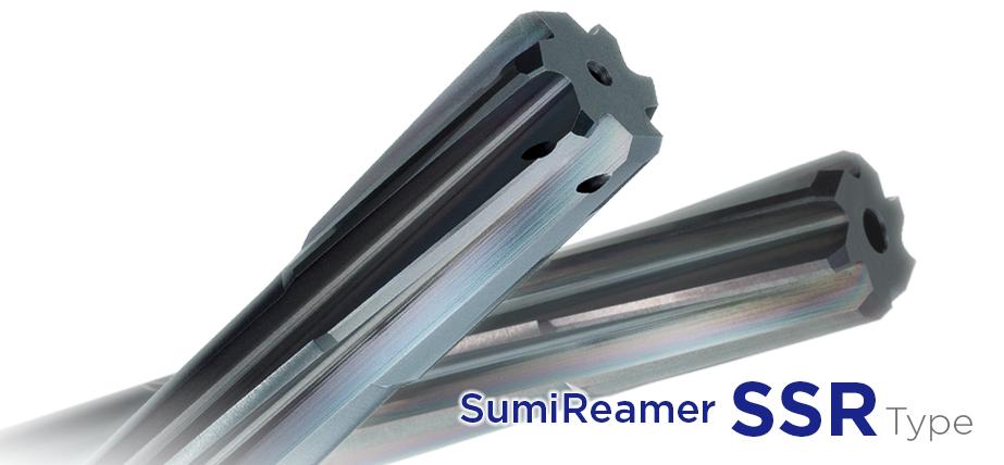 Solid Carbide Reamer<br>SumiReamer SSR series