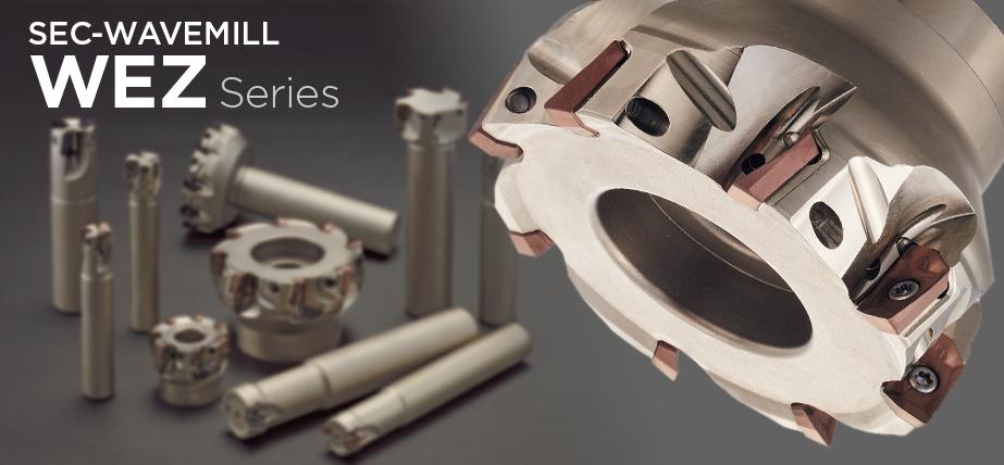 WEZ series - High-efficiency shoulder milling cutter for general purpose