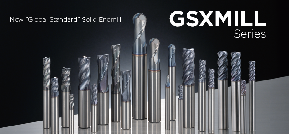 GSX Mill series - Solid carbide endmills