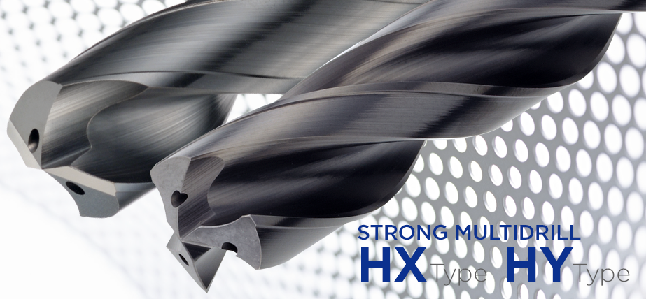 Strong MultiDrill HX / HY - High efficiency solid carbide drills