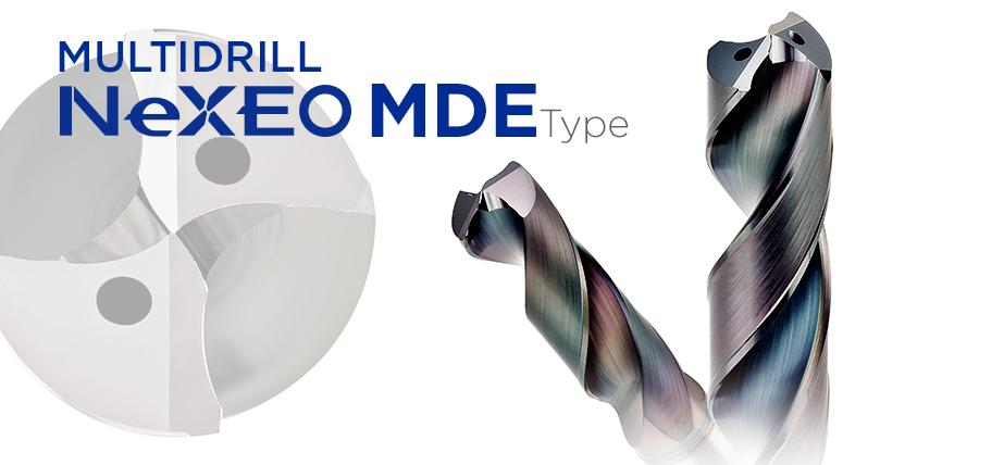 NeXEO MDE series - Coated carbide drills