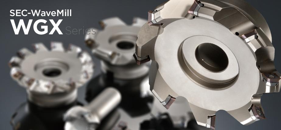 WGX series - High-rake general purpose face milling cutters