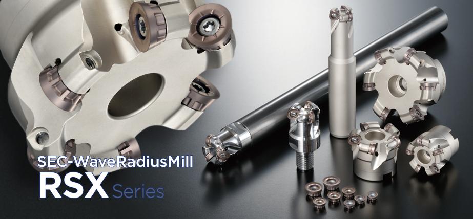 RSX series - RadiusMill for exotic alloys