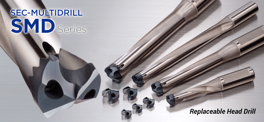 SMD series - Replaceable head drills