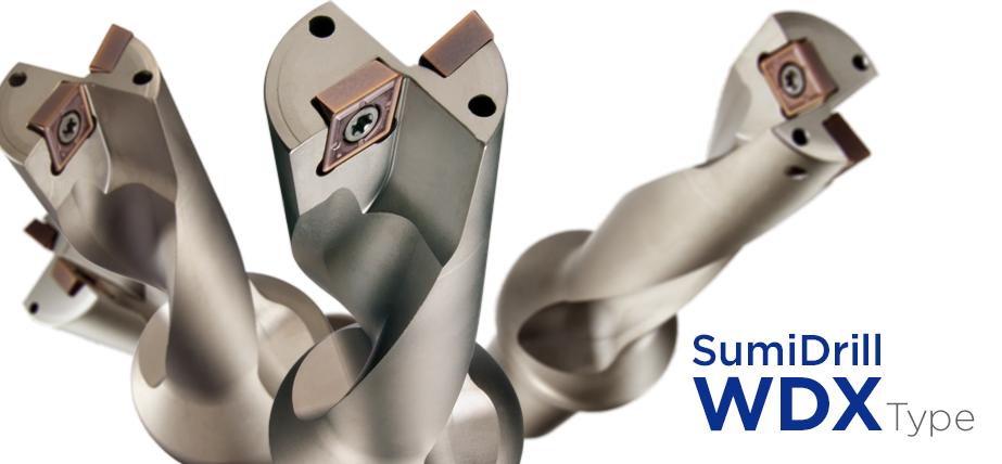 SumiDrill WDX - Indexable drills