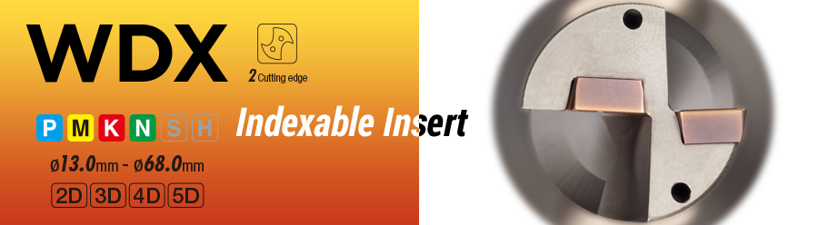 Sumidrill Wdx Indexable Drills Products Sumitomo