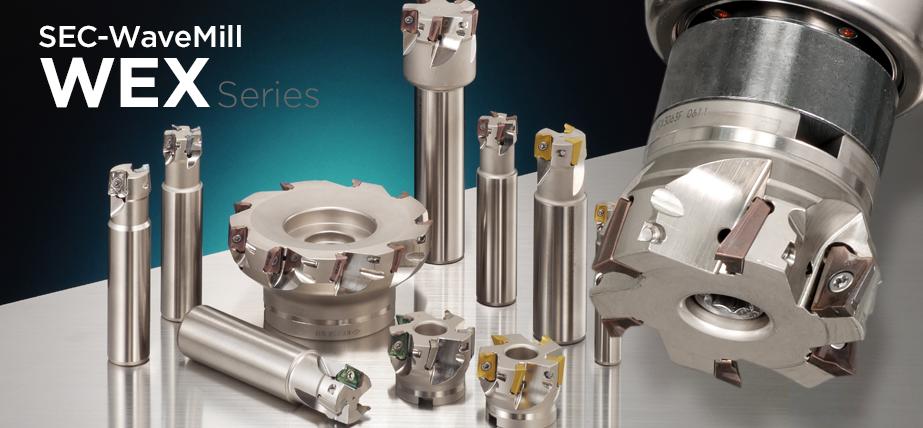 WEX series - High efficiency shoulder milling cutters