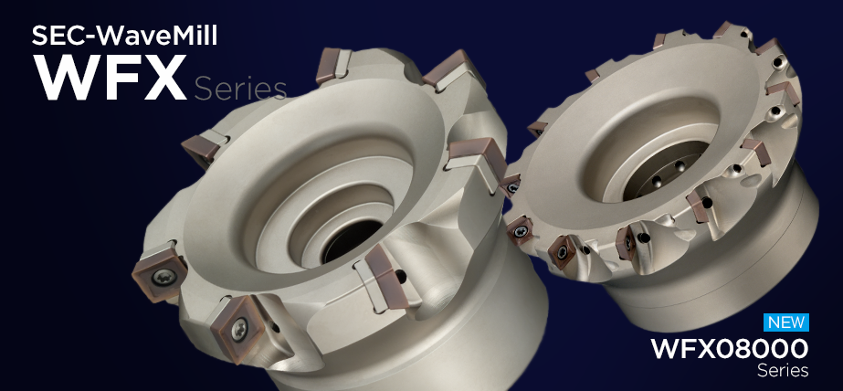 WFX series - High precision, high quality shoulder milling cutter