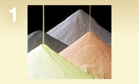 image: 1. Raw Material Powder