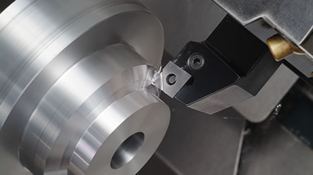 Continuous turning of Aluminum with SUMIDIA inserts