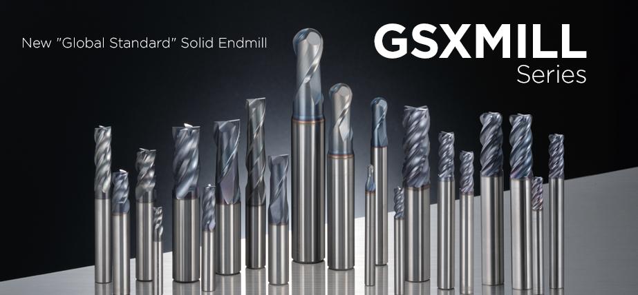 ซีรี่ส์ GSX Mill - ดอกเอ็นมิลล์คาร์ไบด์แข็ง